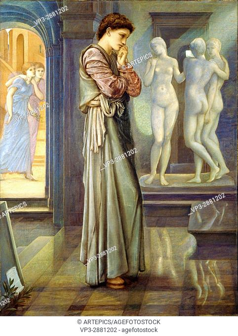 Edward Burne-Jones - Pygmalion and the Image - The Heart Desires - Birmingham Museum and Art Gallery