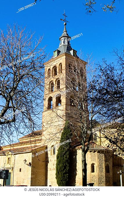 San Andrés Church, in Segovia, city declarated Historical-Artistic Site, and World Heritage by UNESCO