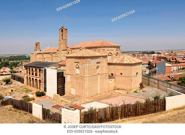 Romanesque church of La Peregrina of Sahagun, St. James way, Leon province, Castilla y Leon , Spain