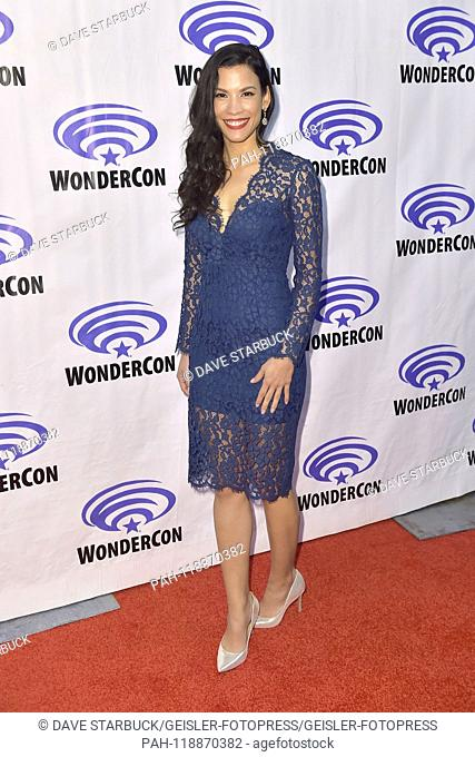Danay Garcia at the Photocall for the AMC TV series 'Fear the Walking Dead' at WonderCon 2019 at the Anaheim Convention Center. Anaheim, 31.03