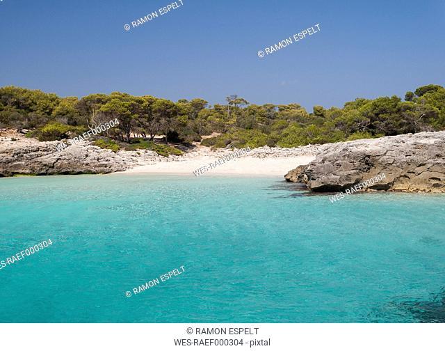 Spain, Menorca, Ciutadella, Talaier beach