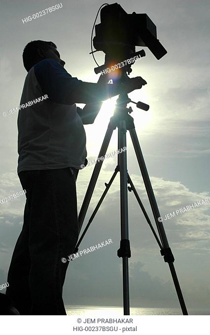 PHOTOGRAPHY IN PROGRESS IN MUNNAR, KERALA, INDIA