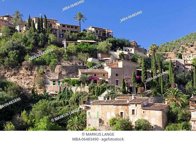 Deia, Sierra de Tramuntana, west coast, Majorca, the Balearic Islands, Spain