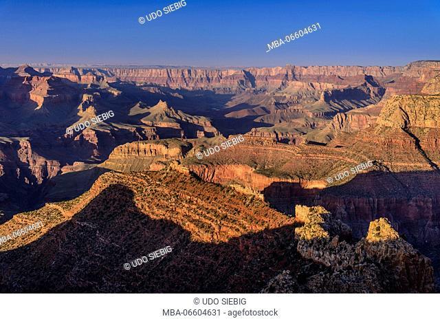 The USA, Arizona, Grand canyon National Park, South Rim, Grandview Point