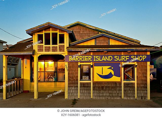 Surf shop, Nags Head, North Carolina, USA