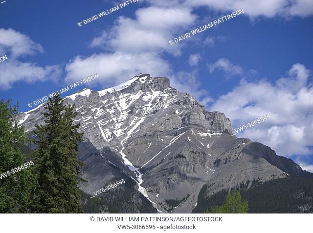 Cascade Mountain, Banff, Alberta, Canada