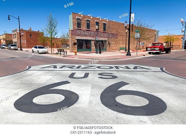 Winslow, Arizona. USA