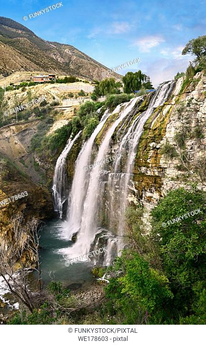 Pictures & Images of the Tortum Water Falls, Coruh Valley, Erzurum in the Eastern Anatolia, Turkey