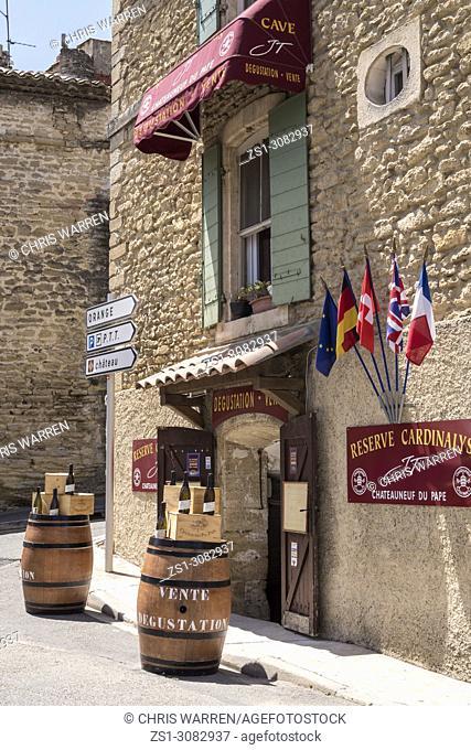 Chateauneuf du Pape Carpentras Vaucluse Provence-Alpes-Côte d'Azur France