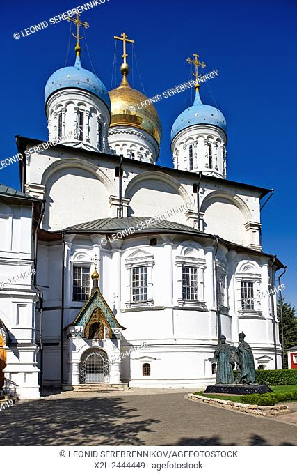 The Cathedral of the Transfiguration. Novospassky Monastery, Moscow, Russia