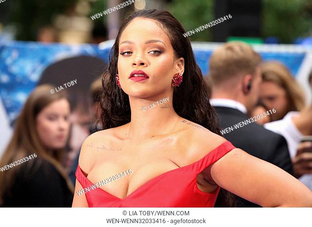 Valerian and the City of A Thousand Planets European Premiere - Arrivals Featuring: Rihanna Where: London, United Kingdom When: 24 Jul 2017 Credit: Lia...