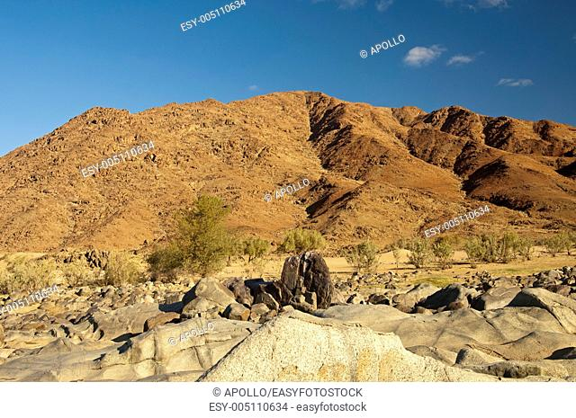 Mountain desert area in the Richtersveld Transfrontier National Park, Namaqualand, Northern Cape Province, South Africa