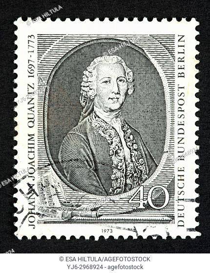 German postage stamp
