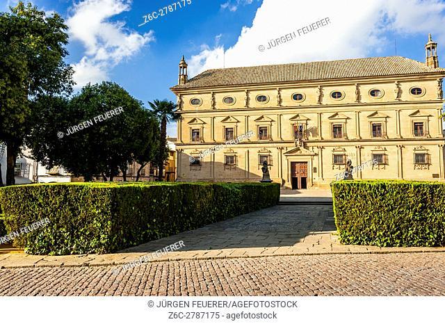 Palacio de las Cadenas, Ubeda, Zona Monumental, UNESCO world heritage site, province Jaen, Andalusia, Spain