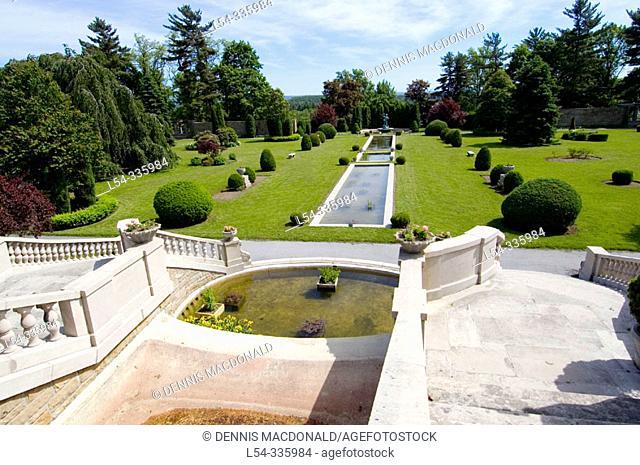 Francis of Assissi Gardens. Laredo. Pennsylvania. USA