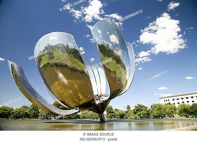 Floralis Generica sculpture, Buenos Aires, Argentina