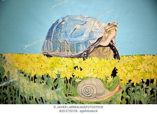 """The Turtle"", 1973, Ethel Gilmour, Museo de Antioquia, Medellin, Antioquia, Colombia"