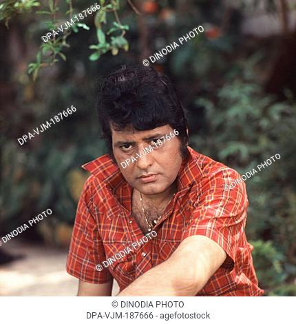 1985, Portrait of Indian film actor Manoj Kumar