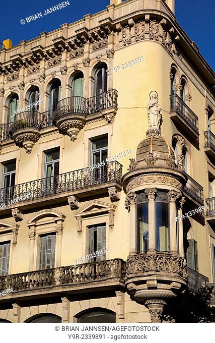 Architecture in Barcelona, Catalonia, Spain