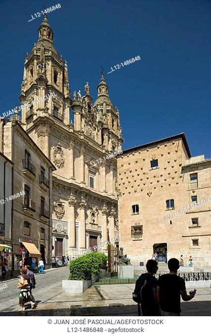 Iglesia de la La Clerecía, La Clerecía church, Salamanca, Castilla y León, Spain