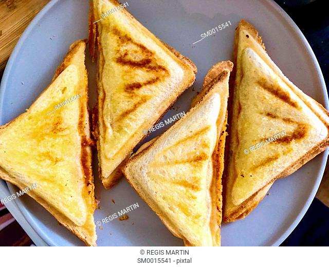 Toasted sandwiches called Toasties in Australia