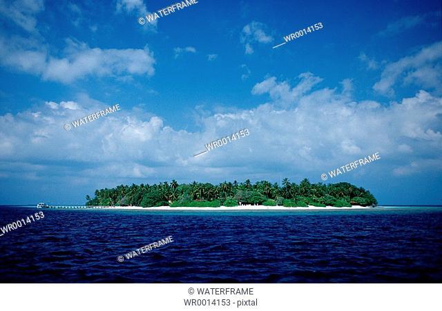 Maldive Islands, Indian Ocean, Maldives Island