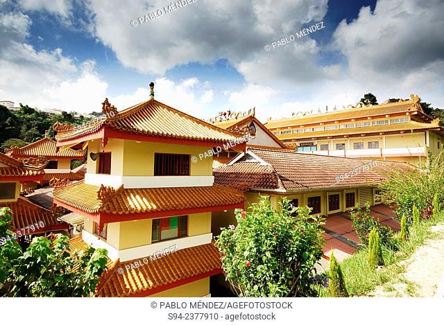 Sam Poh Buddhist temple near Brinchang, Pahang, Malaysia