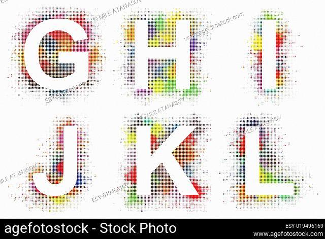 Alphabet g-l