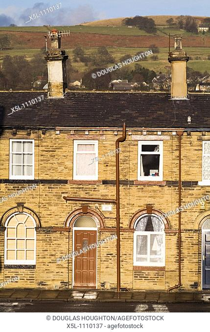 SALTAIRE WEST YORKSHIRE Titus Salts Victorian village workers terraced house