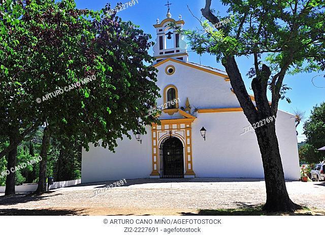 Shrine of Our Lady of Angels, XVIth century. Alájar, Huelva province, Spain