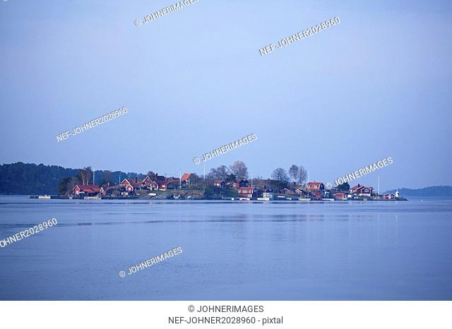 Buildings at sea