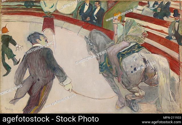 Equestrienne (At the Cirque Fernando) - 1887/88 - Henri de Toulouse-Lautrec French, 1864-1901 - Artist: Henri de Toulouse-Lautrec, Origin: France
