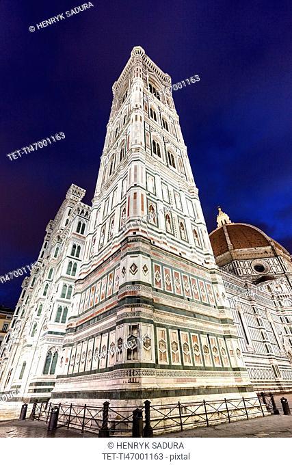 Low-angle view of Duomo Santa Maria Del Fiore
