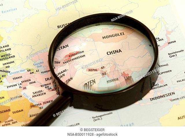 Asia under loupe