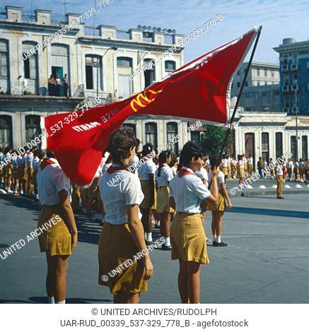 Eine Reise nach Havanna, Kuba, Karibik 1970er Jahre. A trip to Havanna, Cuba, Caribean 1970s