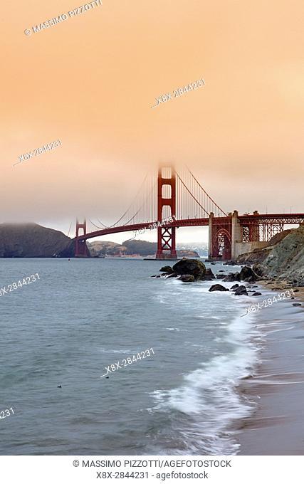 Golden Gate Bridge in San Francisco, California, United States