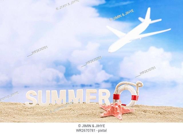 Background of summer vacation
