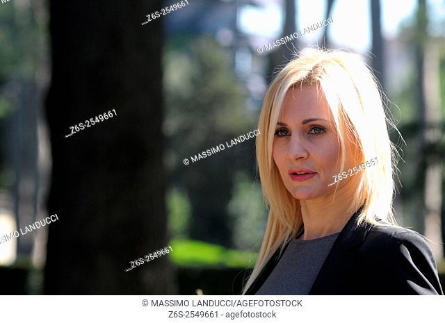Loredana De Nardis; de nardis; actress; celebrities; 2015; rome; italy; event; photocall ; matrimonio al sud