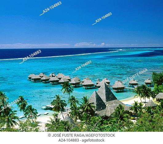 Sofitel Resort. Moorea. French Polynesia