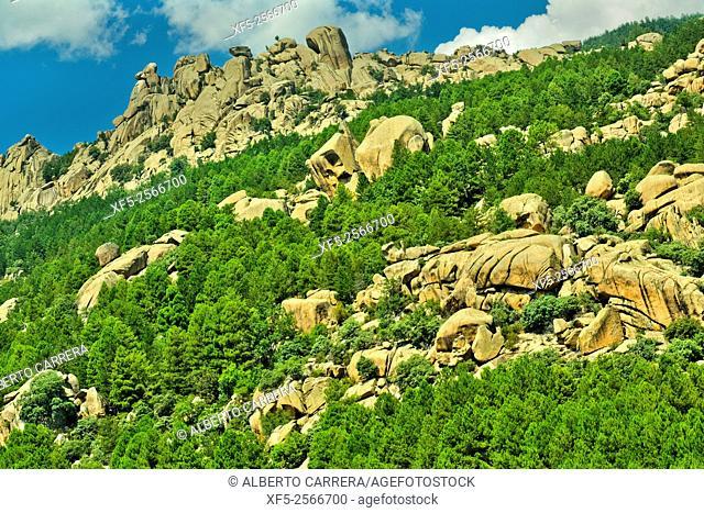 La Pedriza, Guadarrama National Park, Madrid, Spain, Europe