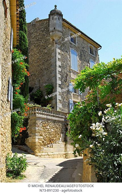 Gordes, Luberon, Vaucluse, Provence-Alpes-Côte d'Azur, France