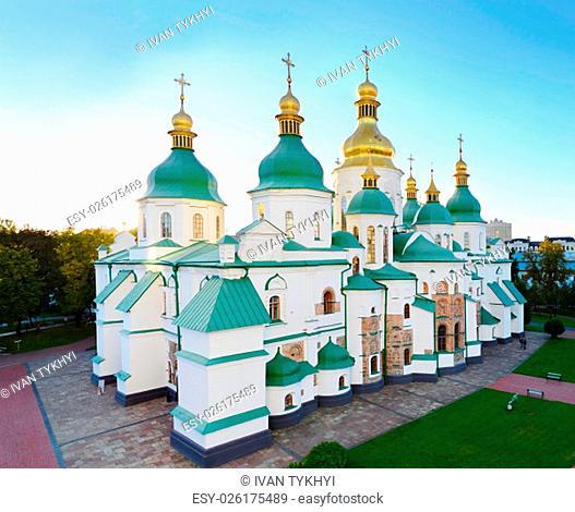 St. Sophia Cathedral (Eastern Orthodox Cathedral) - UNESCO World Heritage Site. Kiev, Ukraine