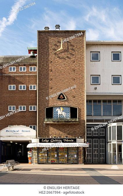 Broadgate House, Broadgate, Coventry, West Midlands, 2014. Artist: Steven Baker