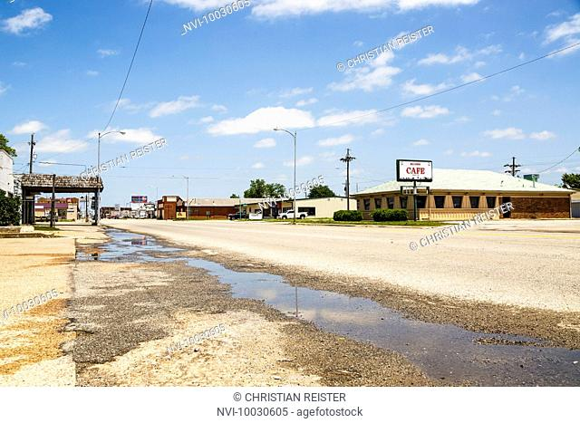 Oklahoma City, Historic Route 66, Oklahoma, USA