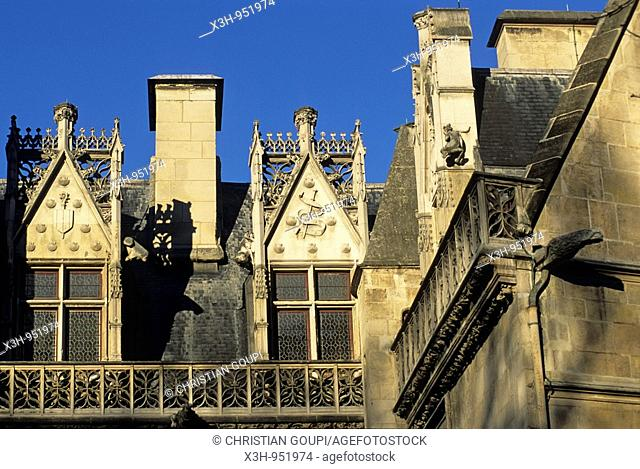 Hotel de Cluny,National Museum of the Middle Ages,musee national du Moyen Age, Paris,Ile de France,France