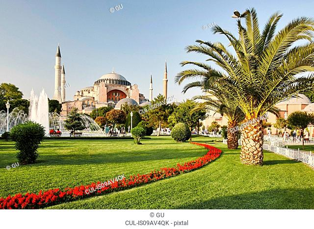 Hagia Sophia museum, Istanbul,Turkey