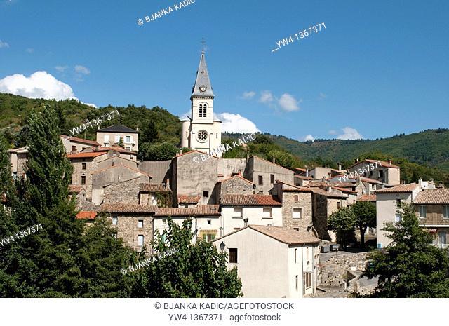 Arre village, France