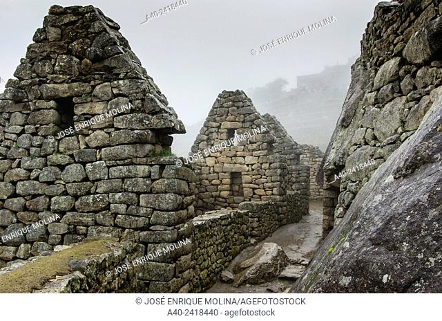 Archaeological site of Machu Picchu, Cusco, Peru, Hanan sector