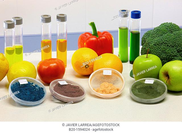 Bioactive compounds from the food industry  Extracts from raw materials and by-products from food industry obtained using ASE equipment  Colorants
