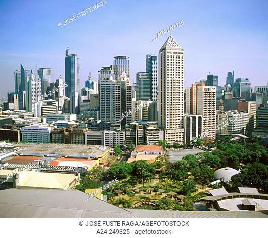 Greenbelt square. Makati district. Manila. Philippines